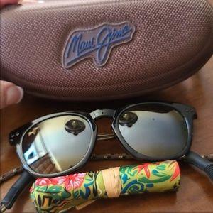 Two Maui Jim sunglasses